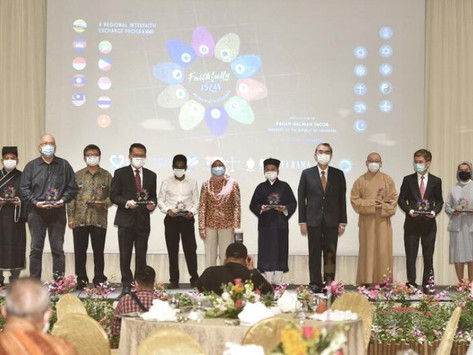 30 Asean participants of different faiths in S'pore for 2nd inter-faith exchange programme