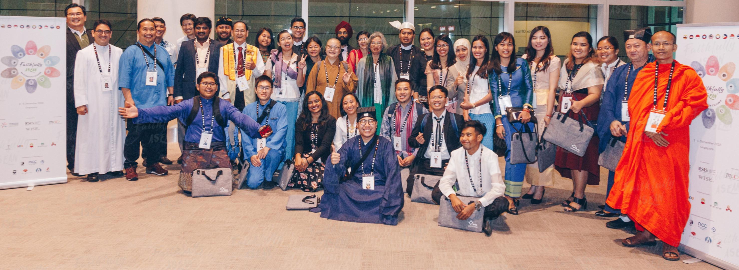 The inaugural Faithfully Asean regional interfaith programme hosted 40 delegates from across the Asean region.