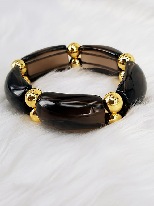 For Protection-Smoky Quartz Bangle