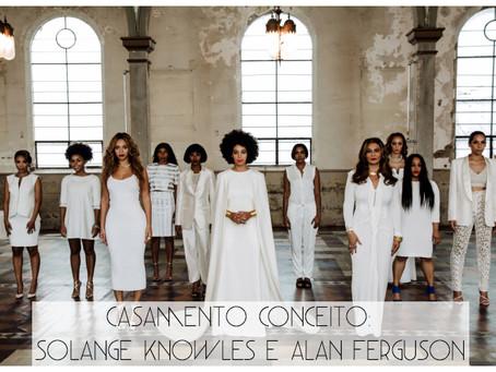 Casamento Conceito: Solange Knowles e Alan Ferguson