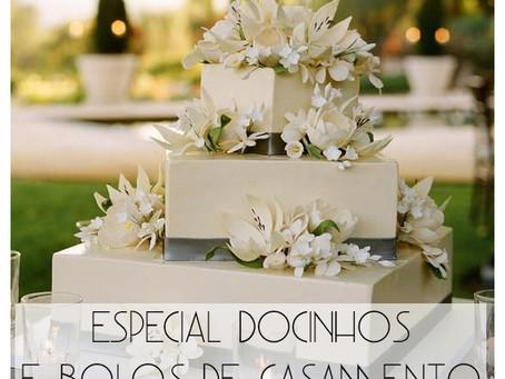 Delícias de casamento: tudo sobre bolos e docinhos