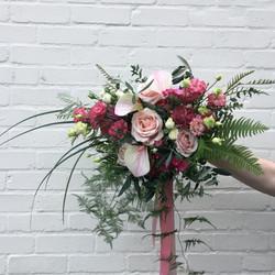 Modern Anthirium bouquet