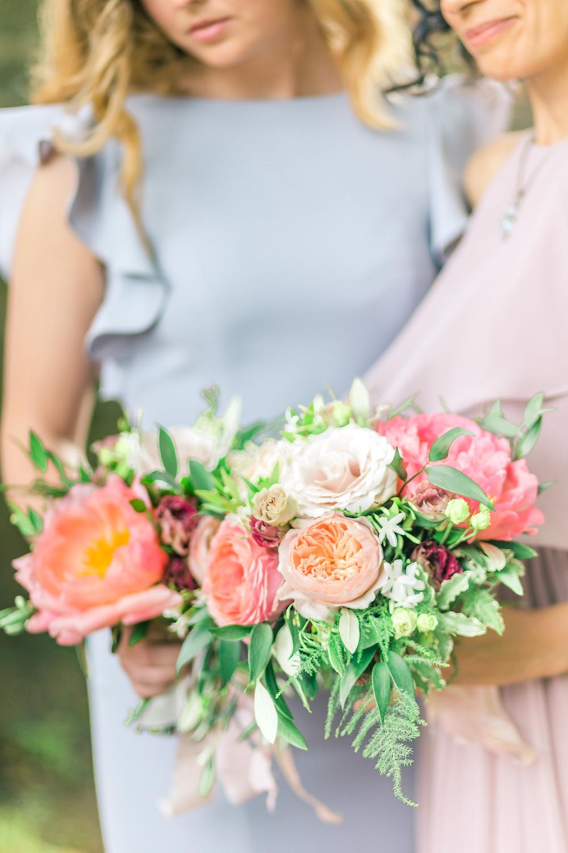 Bridesmaids Bouquet at Moongate Wedding