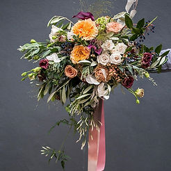 Autumnal vibes with lots of texture for St Margaret Brides