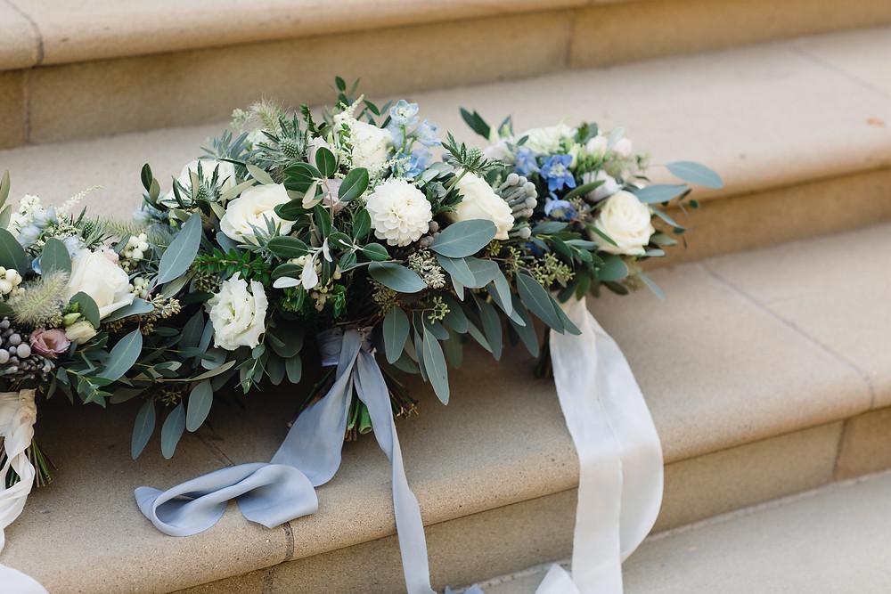 Bridal and Bridesmaid bouquets - Photographer Rebecca Searle