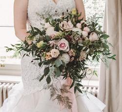 Freeform Bridal bouquet