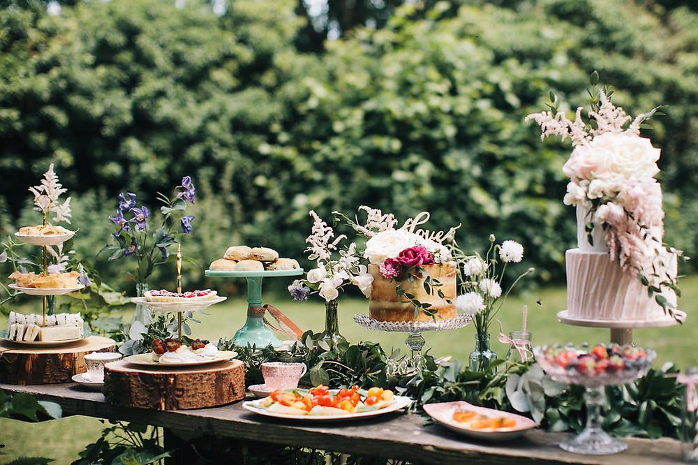 Afternoon Tea Wedding Inspiration