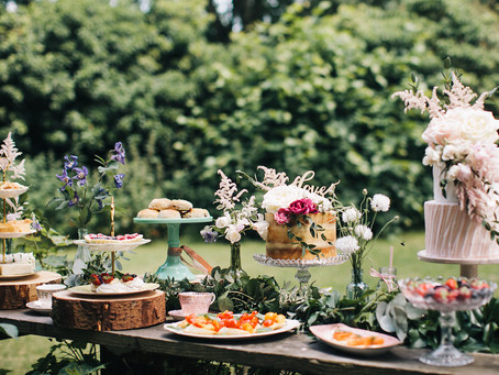 Afternoon Tea Wedding Inspiration at the Secret River Garden in Twickenham