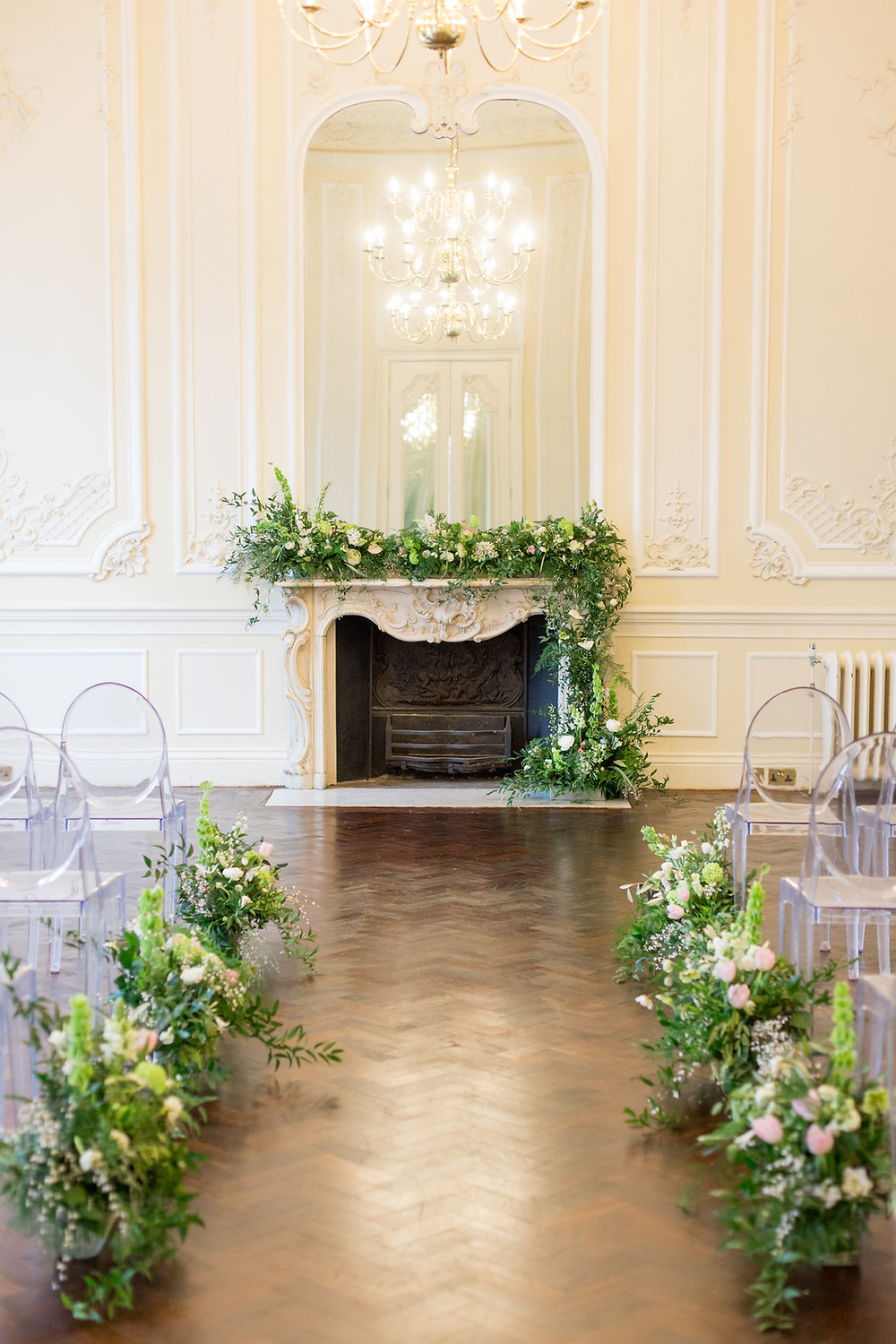 Aisle and Wedding Ceremony Flowers