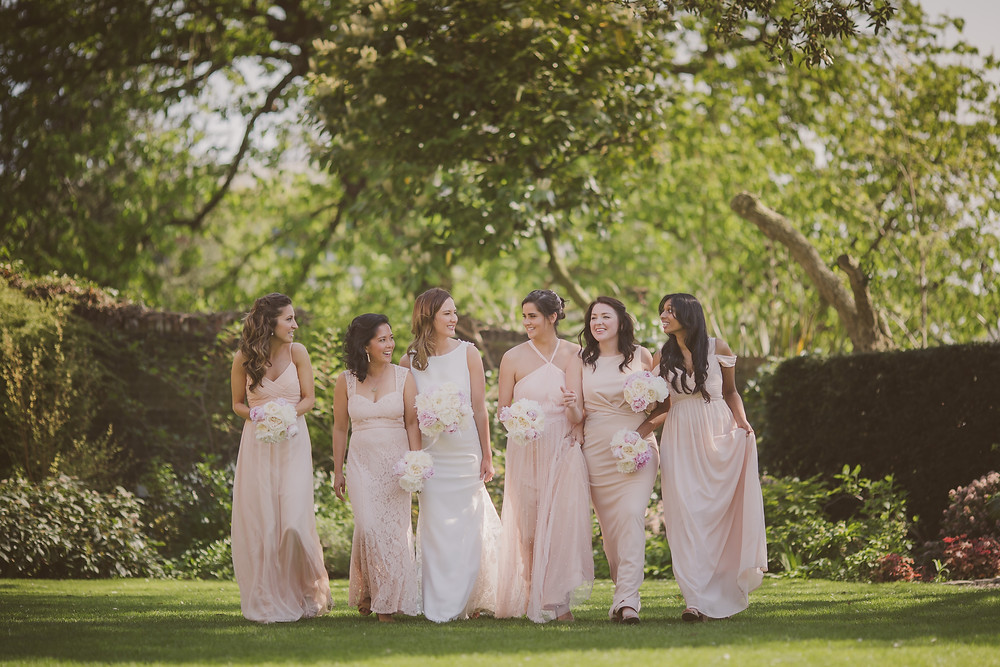 Bride and Bridesmaids photo at the Bingham, Richmond by @nickrayphoto