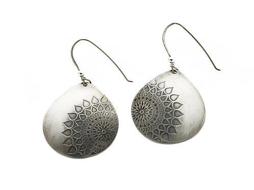 Contemporary Mandala ~ Sterling Silver