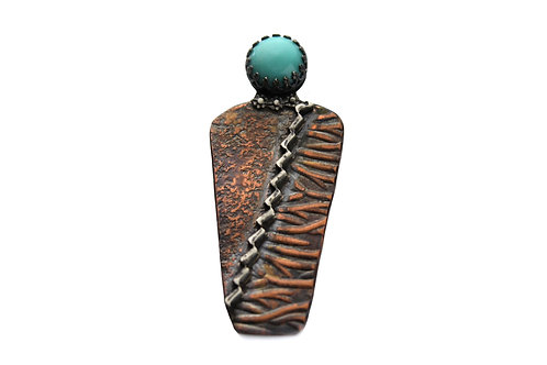 Corn Maden ~ Natural Turquoise