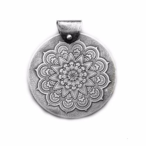 Mandala ~ Sterling Silver