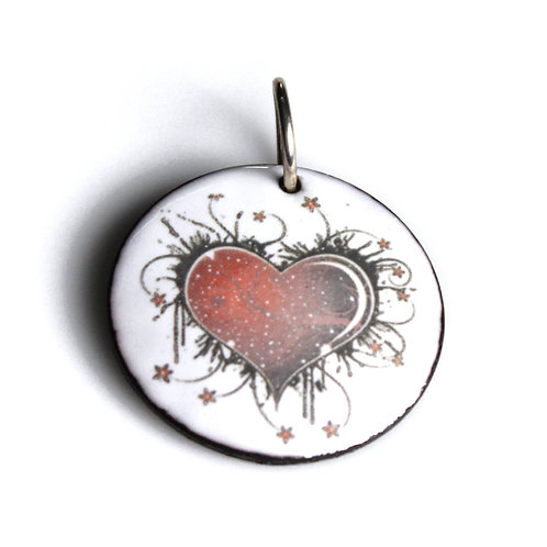 Your Heart Is A Galaxy Pendant