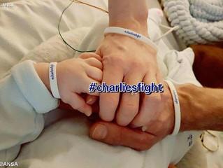 Papa com o pequeno Charlie: Defender a vida, sobretudo se ferida pela doença