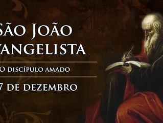 Hoje é celebrado São João Evangelista, o discípulo amado de Jesus