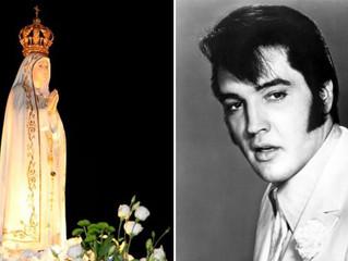 Canção à Virgem de Fátima cantada por Elvis Presley traz história de conversão