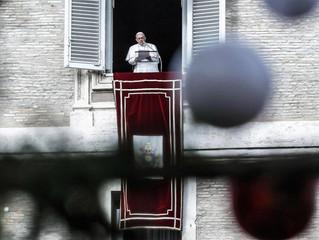 Natal: Papa apela à libertação das pessoas sequestradas