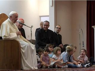"""Papa Francisco: """"estava sempre no gol, porque era perna de pau"""""""