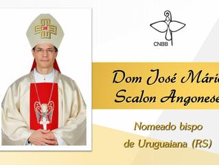 Papa Francisco nomeia dom José Mário Scalon Angonese para a diocese vacante de Uruguaiana (RS)