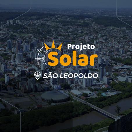 São Leopoldo/RS e região agora contam com uma Projeto Solar