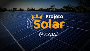 Itajaí e região também já contam com a Unidade Projeto Solar