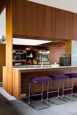 mid cent kitchen