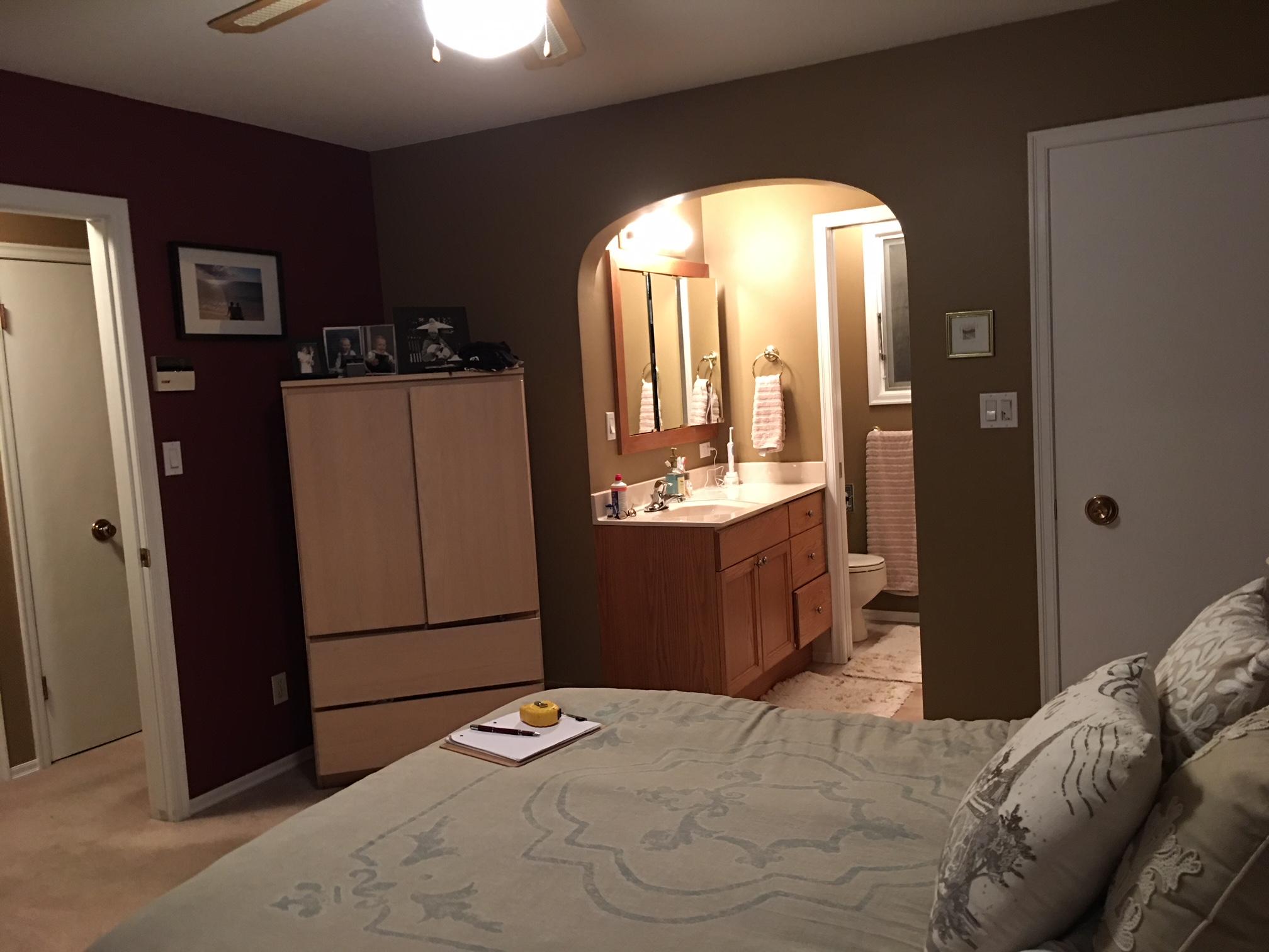 Bathroom-Bedroom Before 2