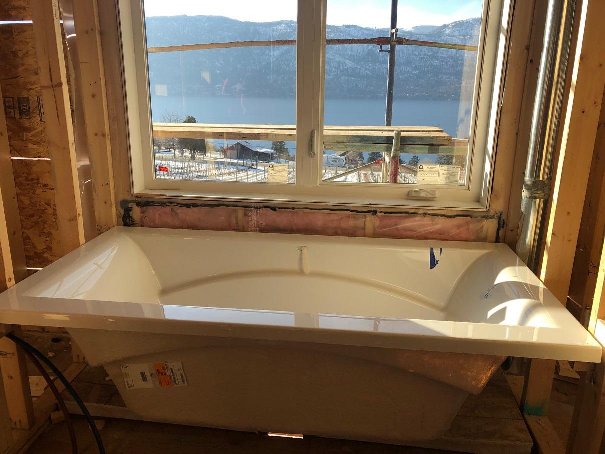 main bath during