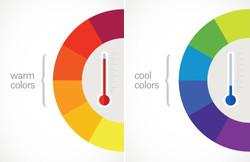 warm vs cool colours