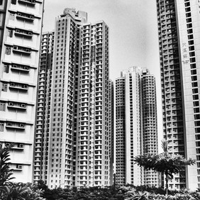 Infinite buildings