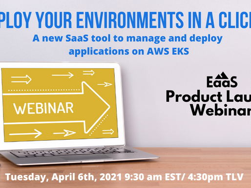 Deploy your Environments in a Click, Product Launch Webinar - Watch the Video