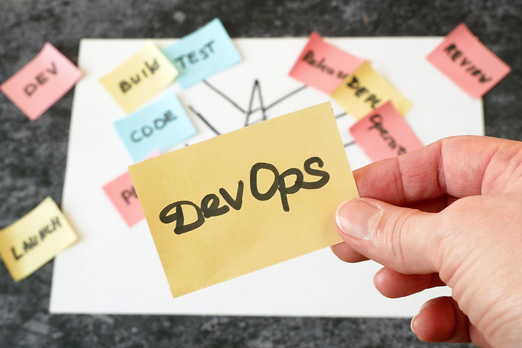 software scrum agile and devops tree in
