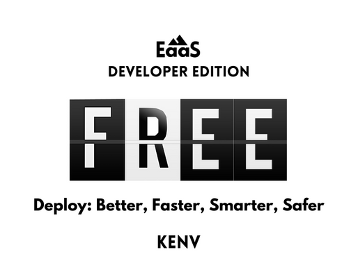KENV Announces A Free EaaS Developer Editon