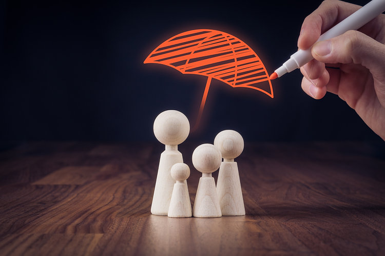 Family life and property insurance conce