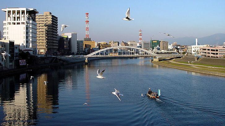 永代橋からの狩野川