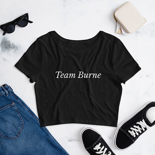 """Team Burne"" Cropped Tee"