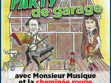 """ Party de garage""                                       on CFRH 88.1 and 106.7, Radio Canada"