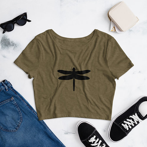 Dragonfly Cropped Tee