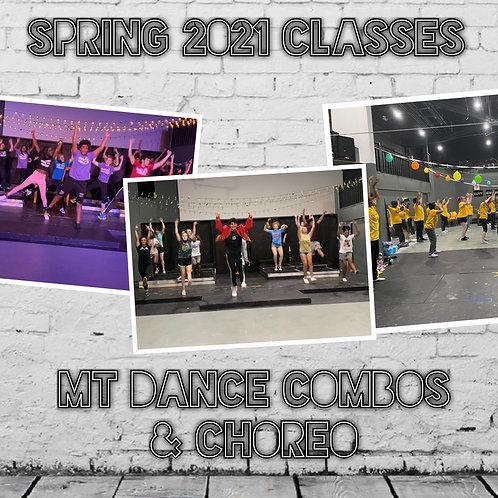MT Dance Combos & Choreo - Spring 2021 Mini-Semester