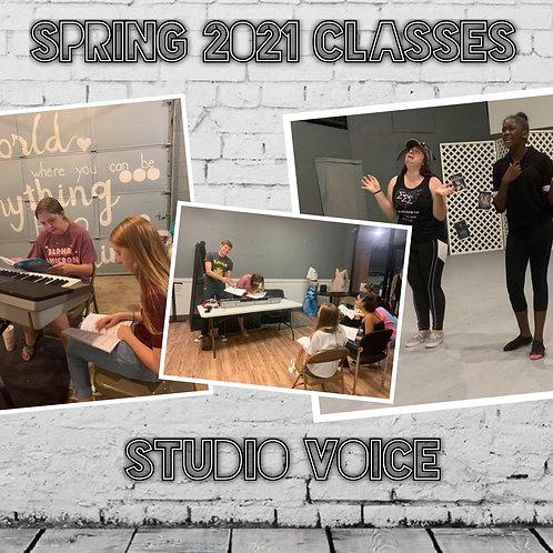 Studio Voice - Spring 2021 Mini-Semester