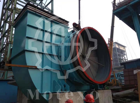 Customer Case-Double Suction Blower Installing Site