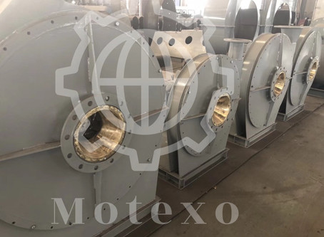 Delivery News:Centrifugal Booster Fan