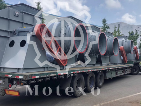 Heavy duty centrifugal fans for Ceramic Project