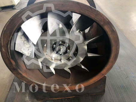 FBCDZ mining ventilation axial fan with aluminum impellers-Chinese manufacturer