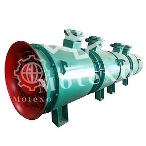 anti-explosion axial fan for tunnel mote