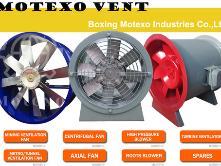 High Performance Standard Axial Fans