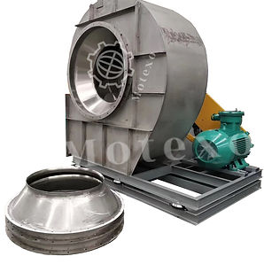 Blower fans for industrial ventilation.j