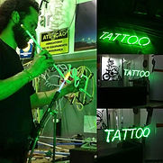 Letras Tattoo Neon