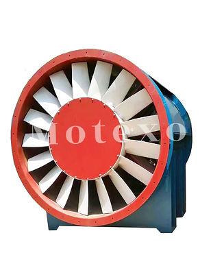 aluminum impeller mining ventilation fan